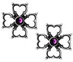 Elizabethan Cross Ear Studs