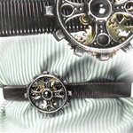 Foundryman's Ring Cross Shirt Sleeve Band