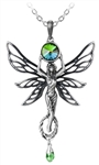 Alchemy Green Goddess Pendant