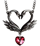 Alchemy Black Swan Romance necklace