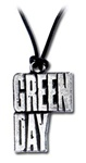 Green Day Logo Pendant