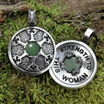 Avalon Pendant - Strength to this Woman