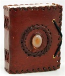 God's Eye Leather bound journal (small)
