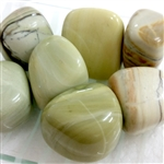 Butter Jade Tumbled stone