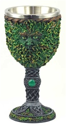 Greenman resin chalice