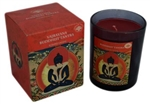 Buddhist Tantra boxed candle