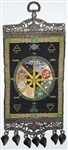 Pagan Calendar Carpet Wall Hanging