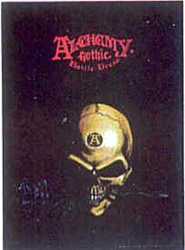 Alchemy Small Skull Flag
