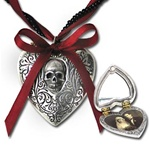 Reliquary Heart Locket