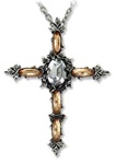 Churrigueresque Cross Necklace