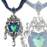 Empress Eugenie's Blue Heart Diamond Necklace