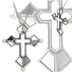 Alchemy Venetian Cross of Light Pendant