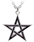 Alchemy Black Star Pendant