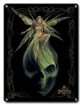 Absinthe Fairy - Metal Plaque
