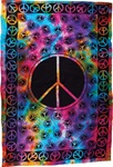 Rainbow Peace Tapestry