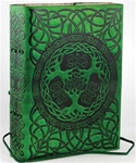 Celtic Trees Leather bound journal
