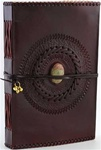 God's Eye Leather bound journal