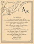 Air Evocation Parchment Poster