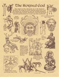 Horned God Parchment Poster