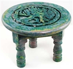Round Tree of Life altar table