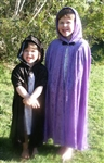 Kids Purple Cape