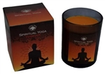 Spiritual Yoga boxed candle