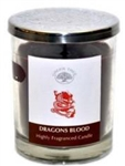 Dragon's Blood lidded candle