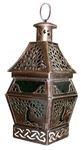 Tree of Life Copper Magick Lantern