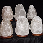 White Rock Salt Lamp